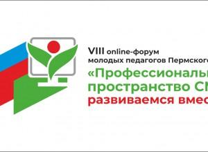 Online-форум молодых педагогов «Профессиональное пространство СМП: развиваемся вместе»